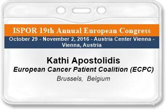 Event Registration ISPOR 19th Annual European Congress Receipt