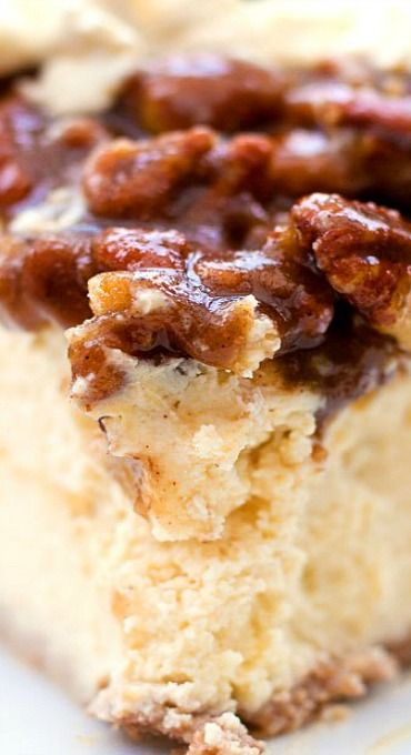Pecan Pie Cheesecake (Gluten Free)