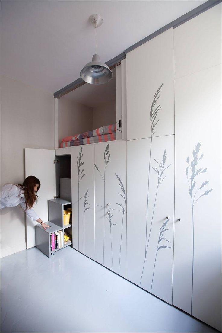 Крошечная квартира в Париже / Kitoko Studio + (Видео)