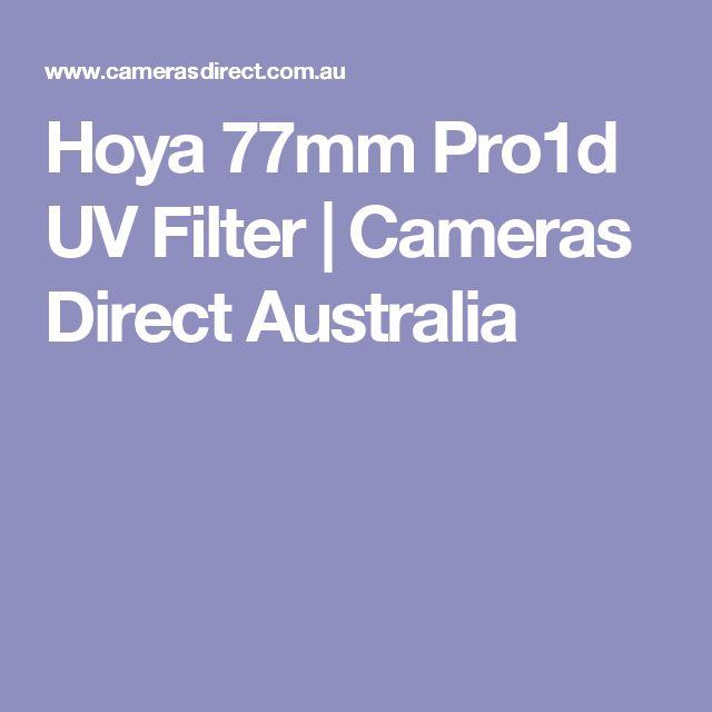Hoya 77mm Pro1d UV Filter | Cameras Direct Australia