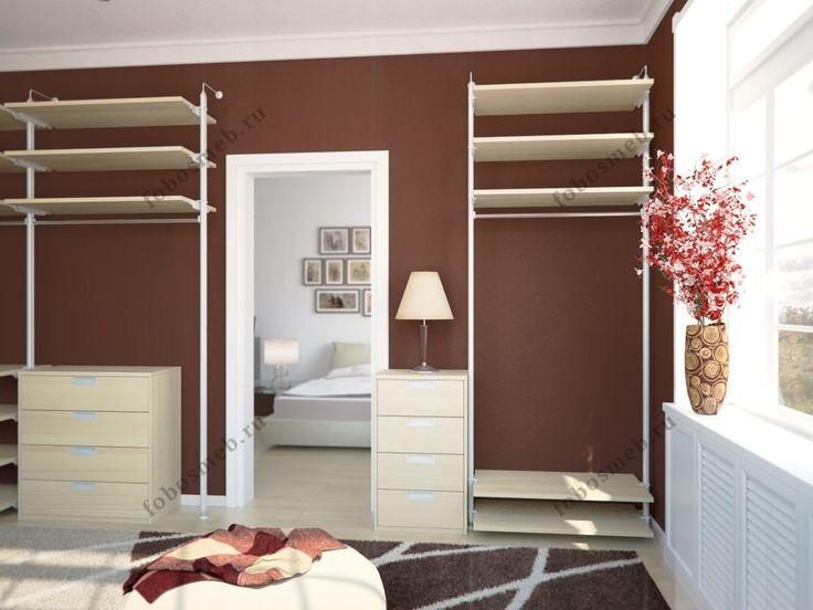 На фото: Интерьер комнаты выполнен на контрасте цветов - коричневый и светло-бежевый