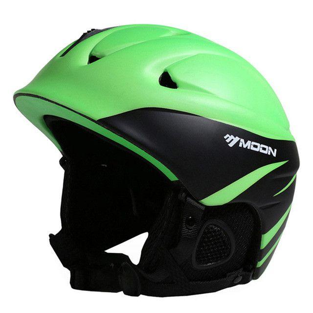 MOON CE Certification Ski Helmet Winter Snow Skiing Snowboard Skateboard Helmet For Kids Adult PC+EPS S/M/L/XL Size