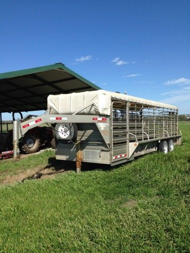 2011 Banens Stock Trailer for Sale - For more information click on the image or see ad # 49353 on www.RanchWorldAds.com