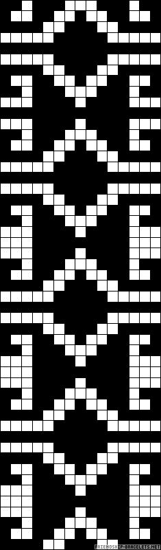 Ornamental Greek chart for cross stitch, knitting, knotting, beading, weaving, pixel art, and other crafting projects.