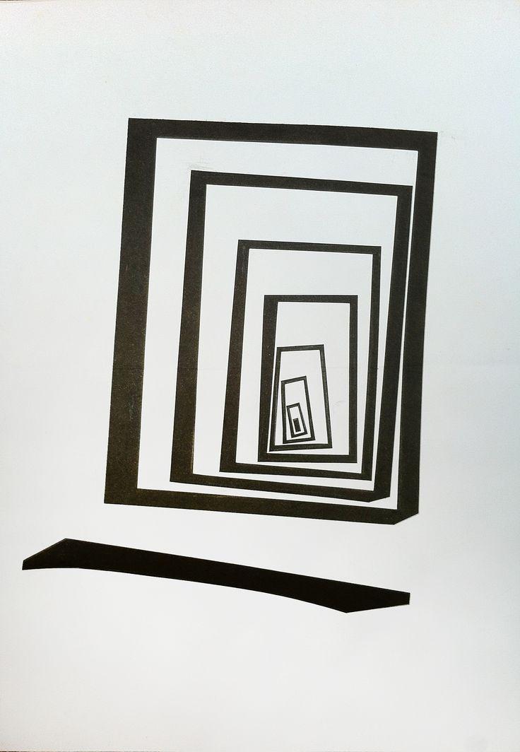 First Stage - Black & White TUNNEL
