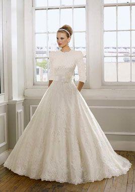 Stunning Orthodox Jewish Wedding Dress Gallery - Styles & Ideas 2018 ...