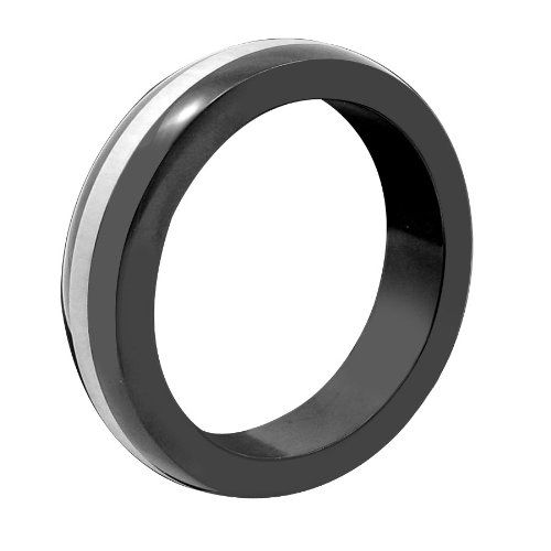 M2M Metal Cring Black With Stainless Steel Band Includes Bag 1875 * You can get more details by clicking on the image.