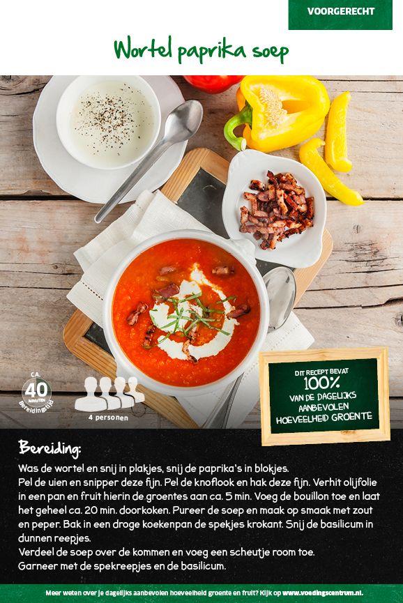 Recept voor wortel paprika soep #Lidl
