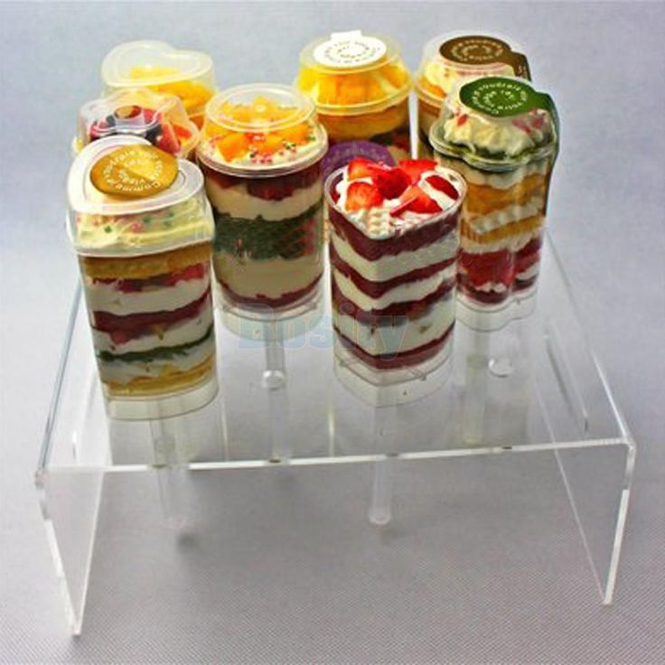Cake Push Pop Display Stand Holds 12 Pushpops Can Hold Cupcakes Pies Shelf