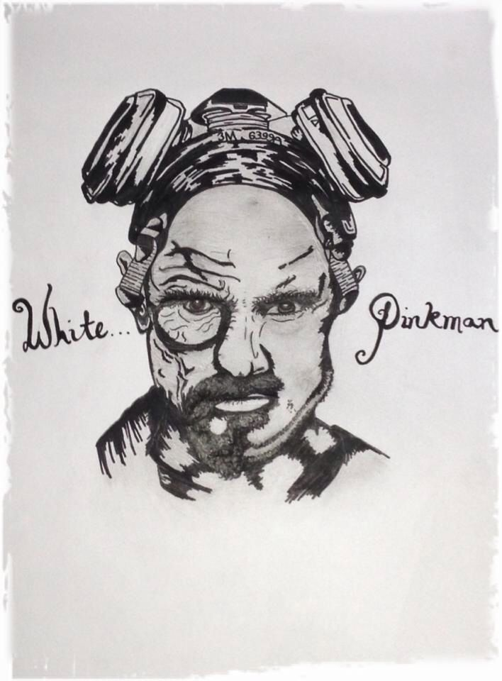 Breaking bads Walter white and Jessie pinkman