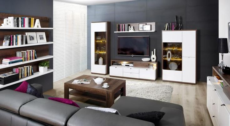 Nowoczesna kolekcja mebli ALCANO FORTE do eleganckiego salonu.