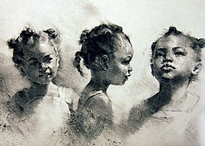 Here to There by Michael Maczuga Charcoal ~  x