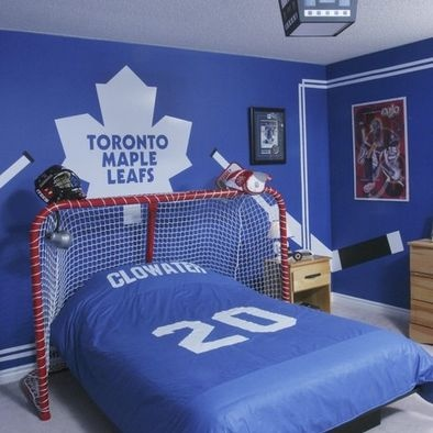 Kids Hockey Design, Pictures, Remodel, Decor and Ideas