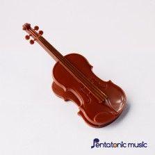 Violin Clip - Brown