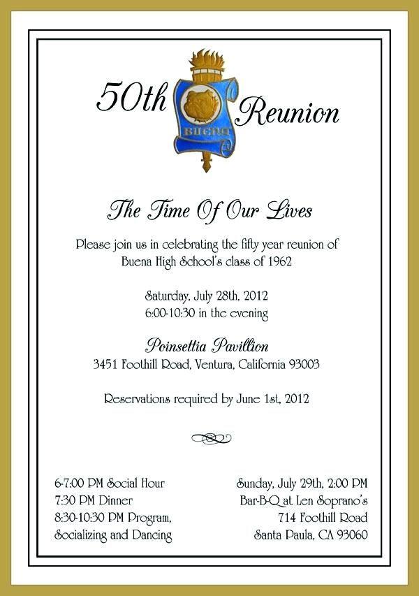 Family Reunion Invitation Letter Family Reunion Reunion