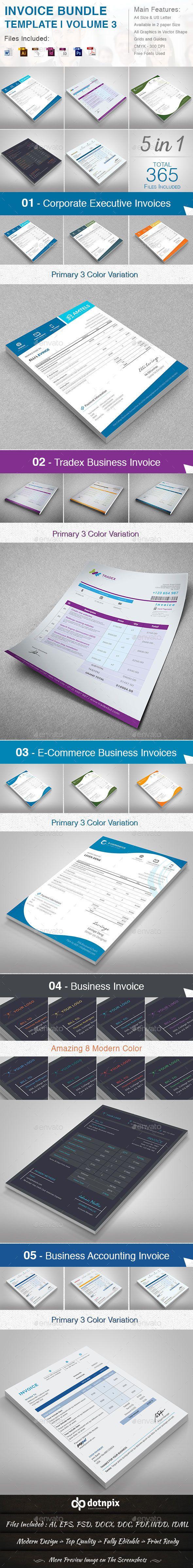 Invoice Bundle Templates #design Download: http://graphicriver.net/item/invoice-bundle-template-volume-3/13608104?ref=ksioks