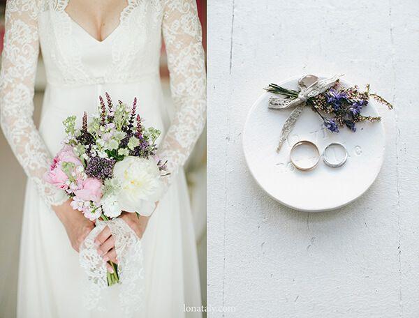 Свадебный стиль прованс (Наташа и Слава)