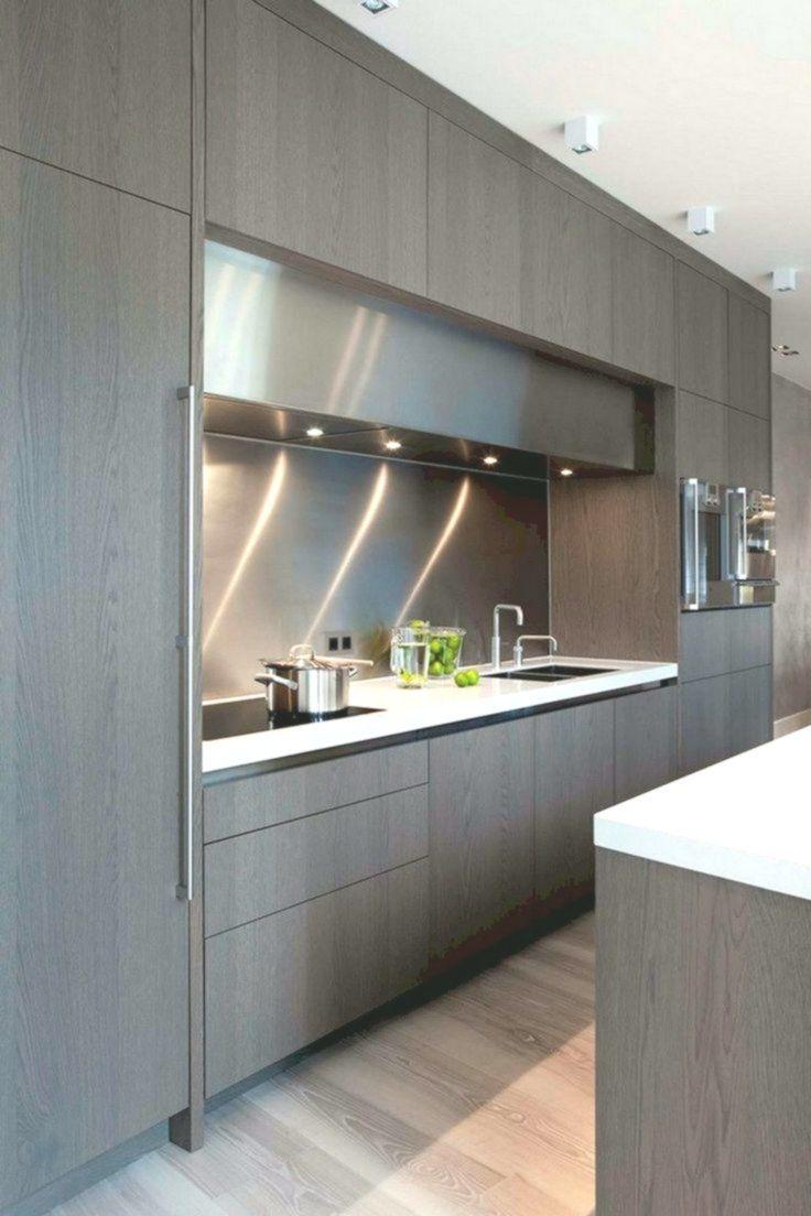 45 Elegant Contemporary High End Natural Wood Kitchen Designs