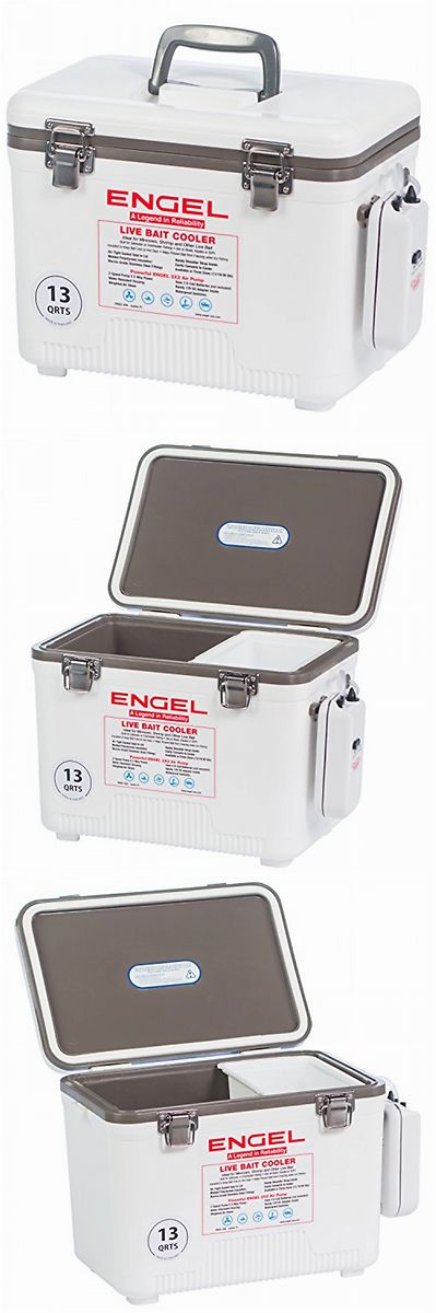 Bait Buckets 179986: Live Bait Cooler Portable Fishing Well Minnow Fish Tank Battery Powered Air Pump -> BUY IT NOW ONLY: $105.31 on eBay!