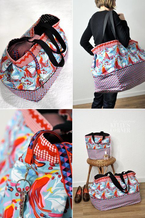 die besten 25 strandtasche ideen auf pinterest strandtasche korb canvas rucksack n hen und. Black Bedroom Furniture Sets. Home Design Ideas