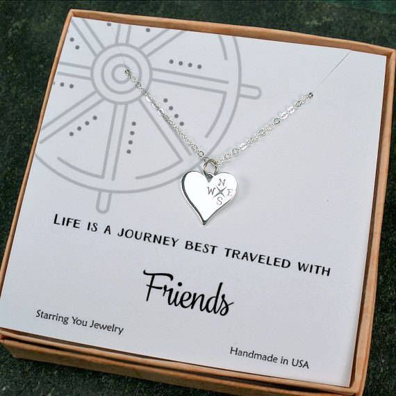 Obsessed with how cute our new #friendship necklace looks with this nautical themed card! starringyoujewelry.com