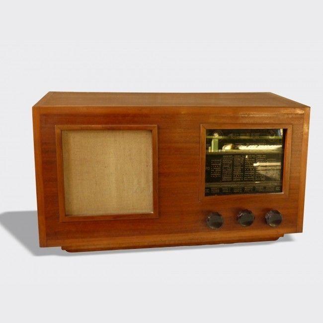 Poste radio ancien TSF années 40