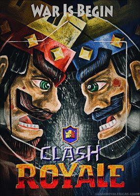 Desenhos lendários de Clash Royale feitos por fãs - Clash Royale Dicas - a maior fonte de conteúdo e dicas de Royale