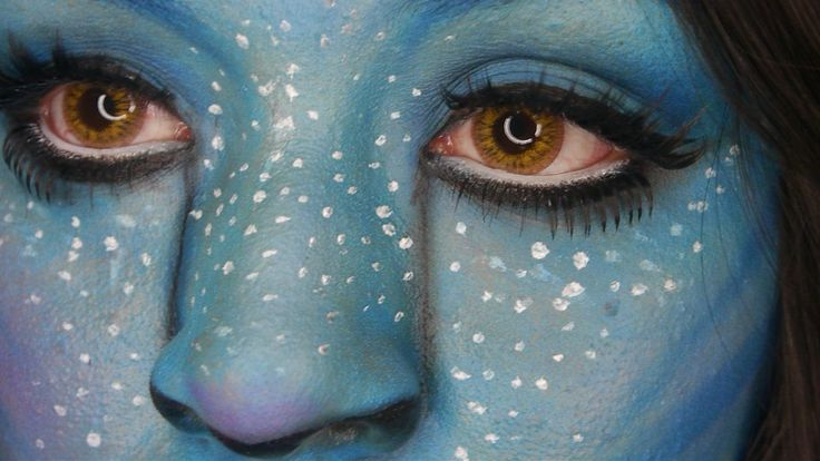 Tutorial De Maquillaje: Disfraz Avatar - JuanCarlos960