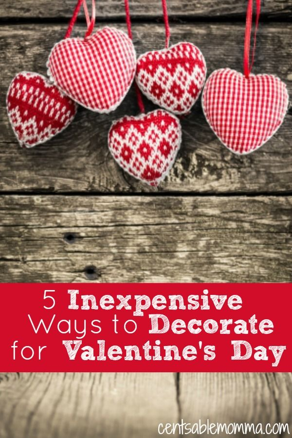 175 best Valentine\'s Day Decorations images on Pinterest ...