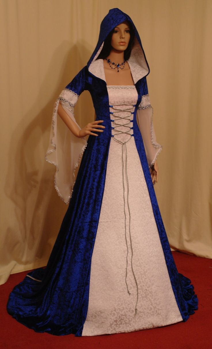 medieval handfasting renaissance dress custom made. $266.00, via Etsy.