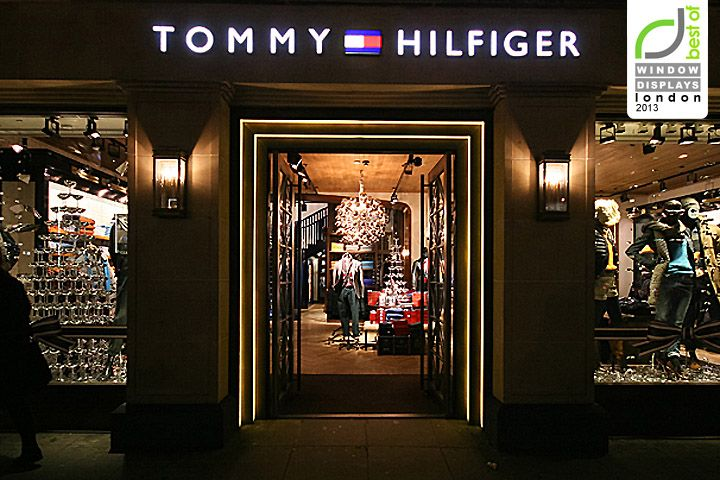 tommy hilfiger windows 2013 winter london visual merchandising pinterest the o 39 jays. Black Bedroom Furniture Sets. Home Design Ideas