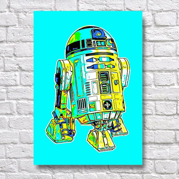 Star Wars R2D2 Pop Art - alternative movie Poster - A4 Wall Art Prints Use Coupon Code : ONEFREE to save £5.95(one free print) when you spend over £17.50 in my store. effectively Buy 2 prints and get a 3rd FREE Quality and Details Paper: All posters are printed on Olmec(Innova) Photo Lustre 260gsm, instant dry, fade resistant microporous coated heavyweight RC paper. acid free and water resistant paper. This Paper produces Pin Sharp images with Vibrant and Vivid colours. Ink...