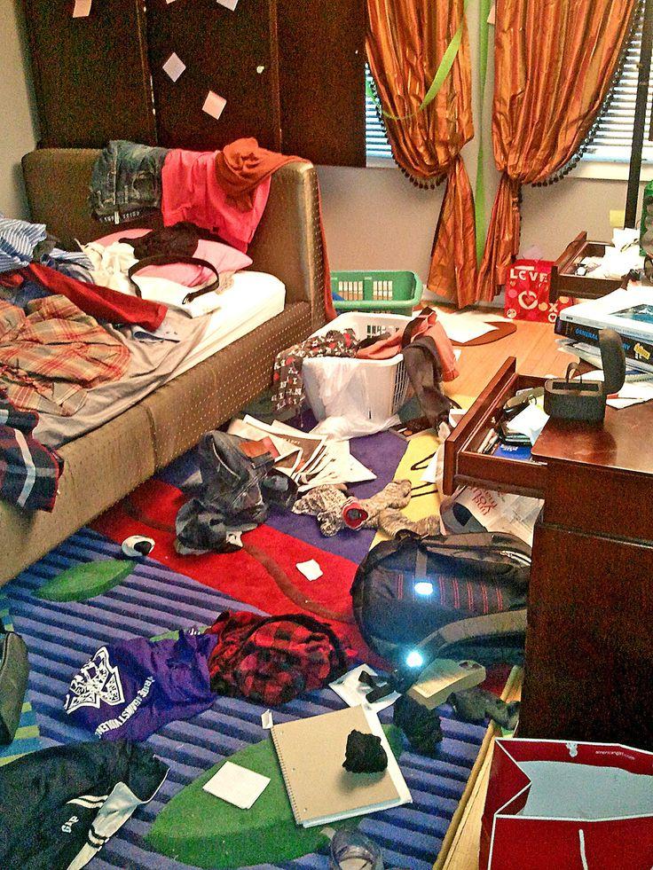 Your Kid's Messy Room | Messy bedroom, Messy room, Teenage ...
