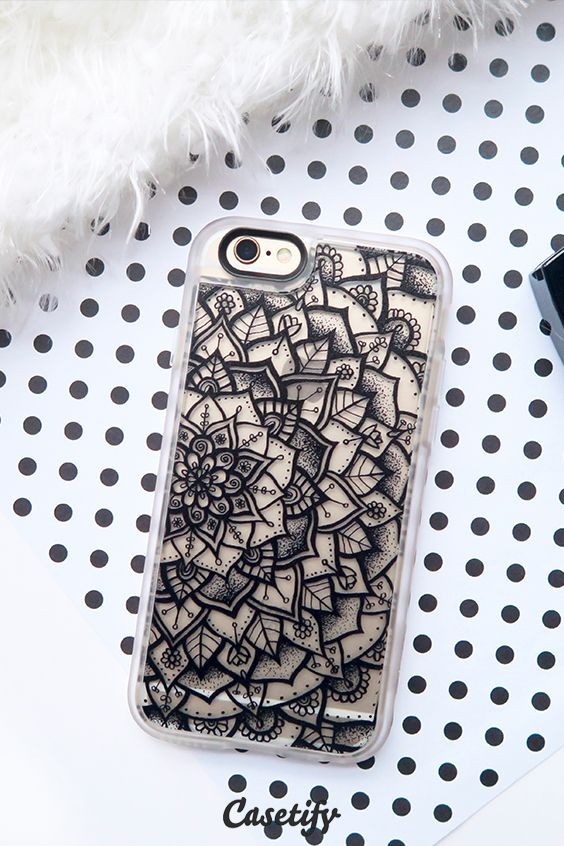 Click through to see more iPhone 6 protective phone case designs by Laurel Mae >>> https://www.casetify.com/laurelmae/collection #mandala | @casetify