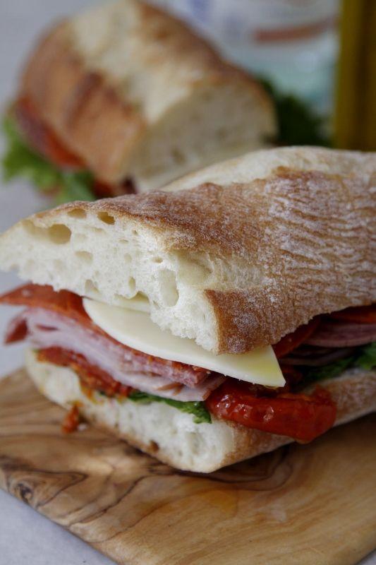 Italian Sub Sandwich  made by @Paula - bell'alimento