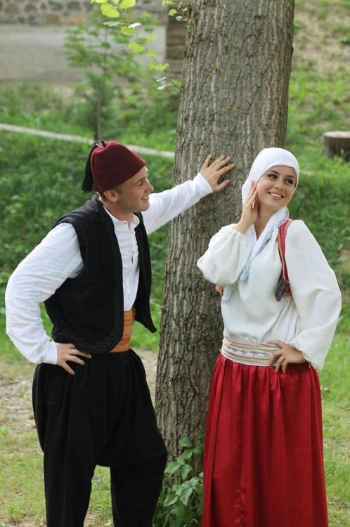 Bosnia and Herzegovina couple   Traditional Clothes and ...