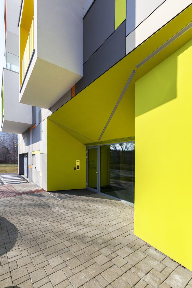 Bytový dom Nový háj_Architekti Šebo Lichý_Bratislava, Slovensko Fotograf: Dano Veselský