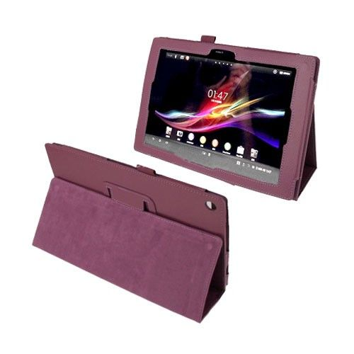 Simple (Violetti) Sony Xperia Tablet Z 10.1 Nahkakotelo
