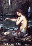 A Mermaid 1900  by John William Waterhouse