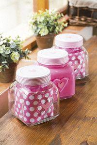 Creative Company | Scrap That Too: Heart glass jars