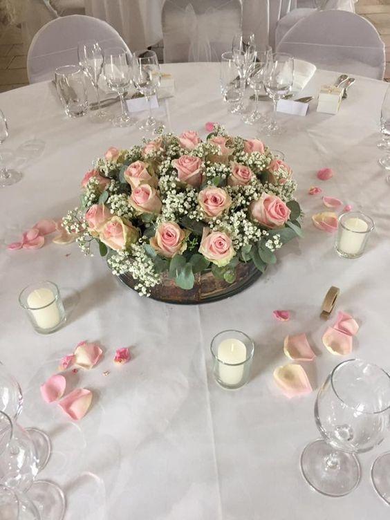 Magnificent Elegant Floral Wedding Centerpiece Wedding Centerpieces Interior Design Ideas Tzicisoteloinfo