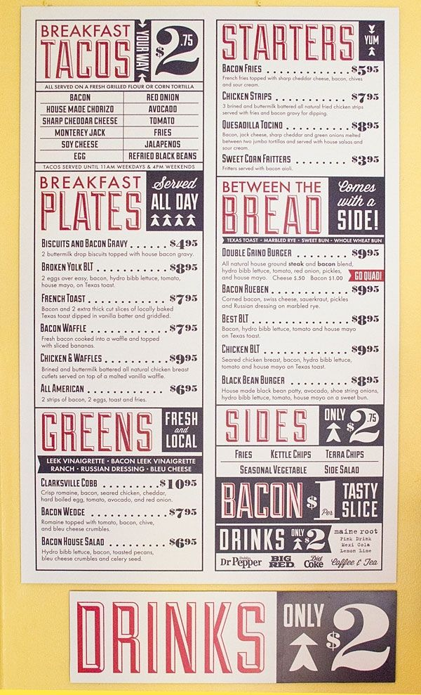 Love This Style For Headlines, But Donu0027t Know If Everyone Would. Might ·  Restaurant IdeasRestaurant Menu DesignRestaurant ...