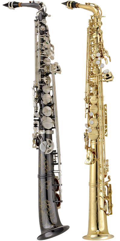 Who knew an alto sax could look like this? I need to try one of these!