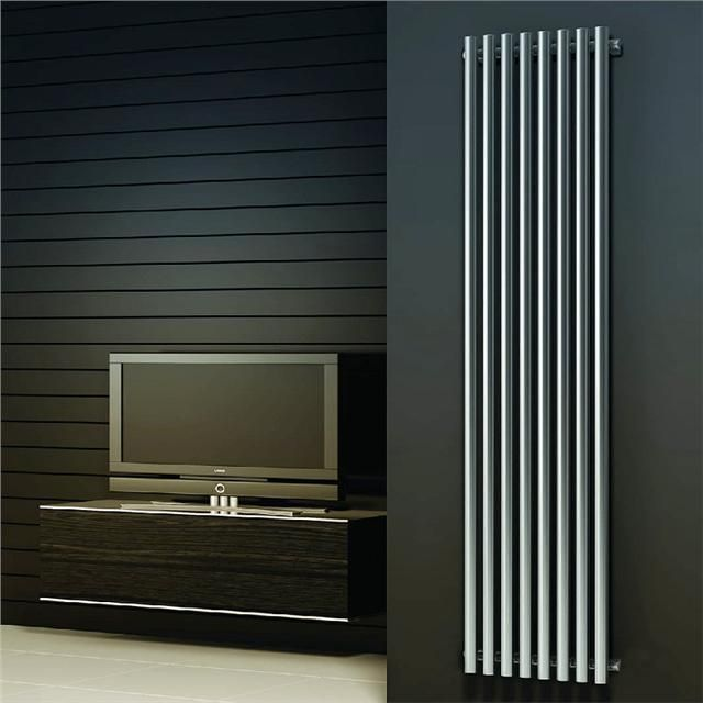 DESIGNER RADIATOR-O1-VERTICAL Chrome