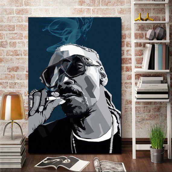 Wall Art Print Art Snoop Dogg Music Poster