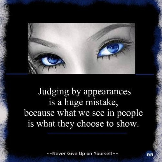 Why Do People Judge Others?