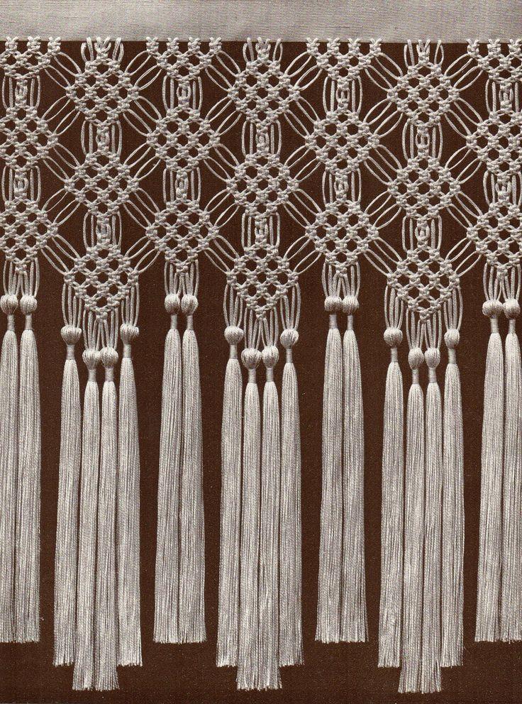 25 Best Macrame Curtain Ideas On Pinterest How To