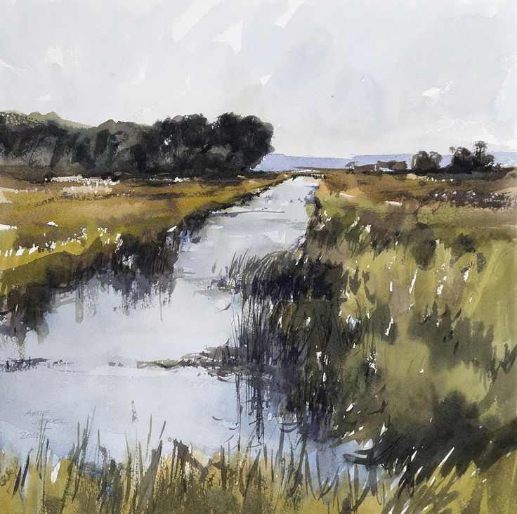 Arie Jekel | High summer | Watercolor