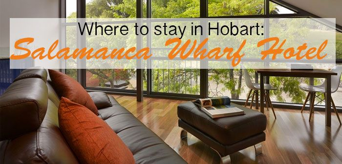 Looking for a place to stay in HOBART? I can't recommend the Salamanca Wharf Hotel more!  Read more... http://bittenbythetravelbug.com/salamanca-wharf-hotel-hobart-tasmania-review/
