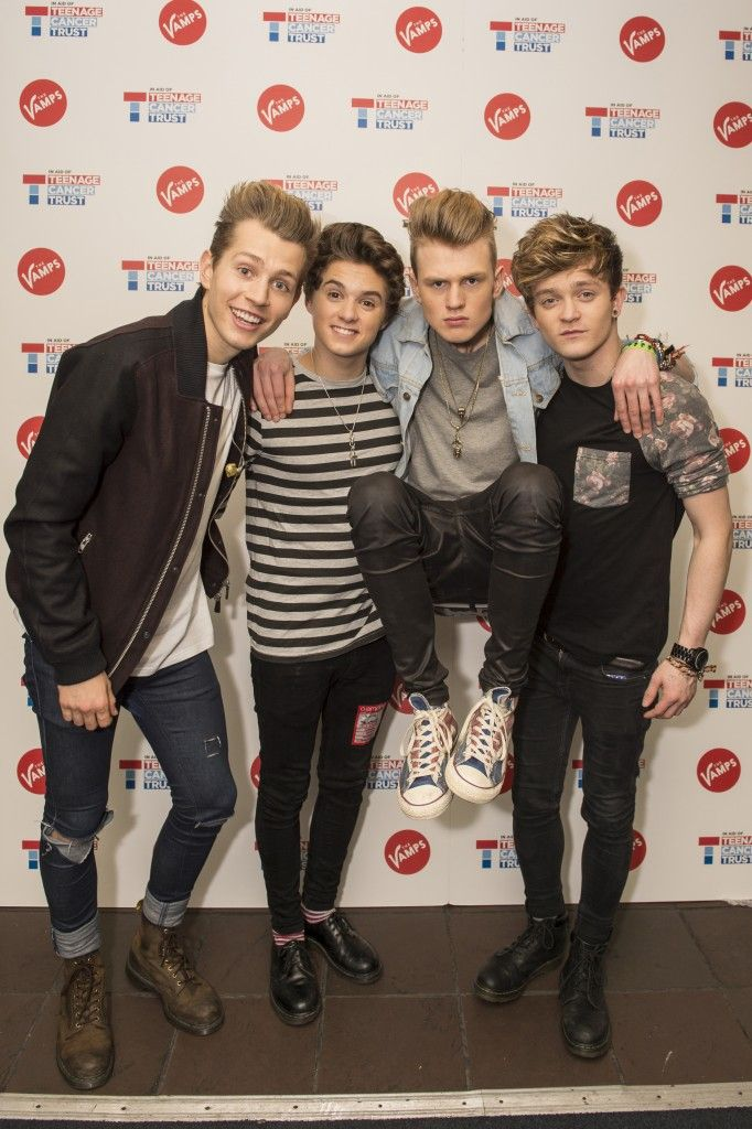 The Vamps Last Night Single Launch